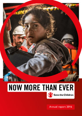 Now More Than Ever: Save the Children Annual Report 2016