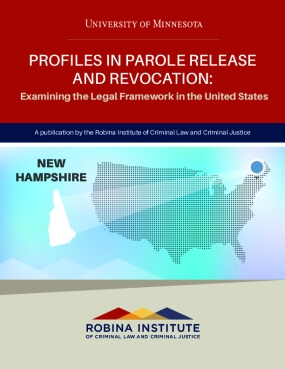Profiles in Parole Release and Revocation New Hampshire