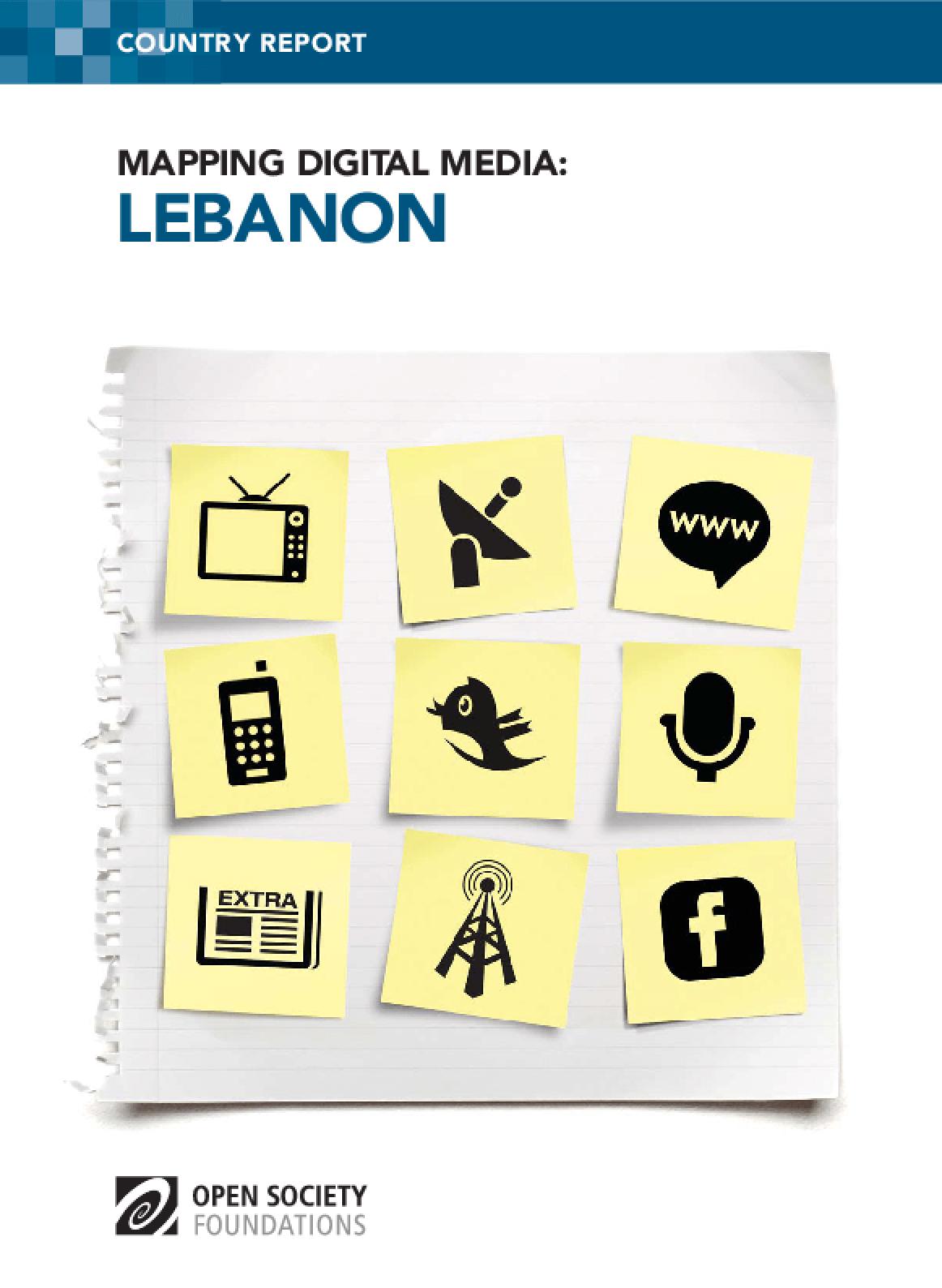Mapping Digital Media: Lebanon