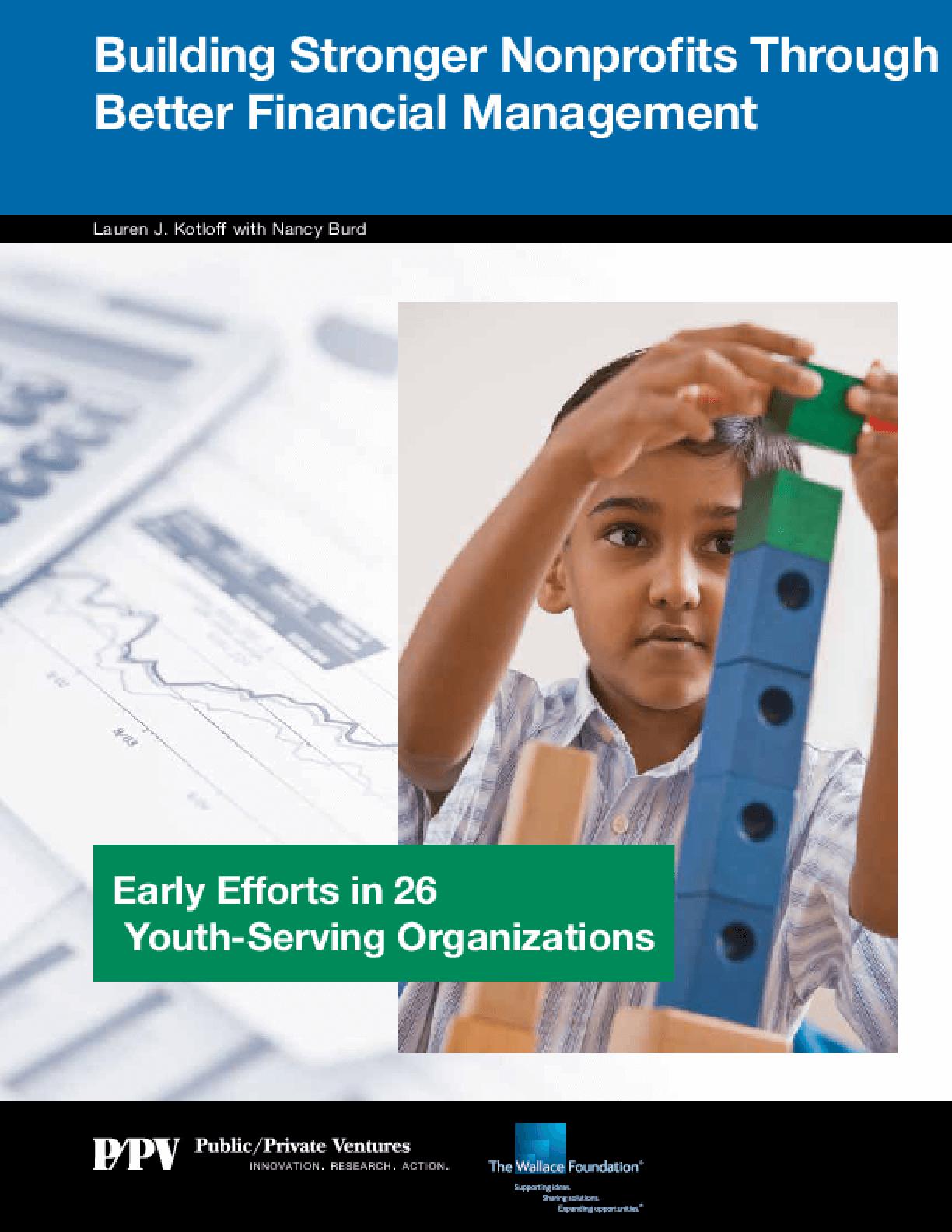 Building Stronger Nonprofits Through Better Financial Management
