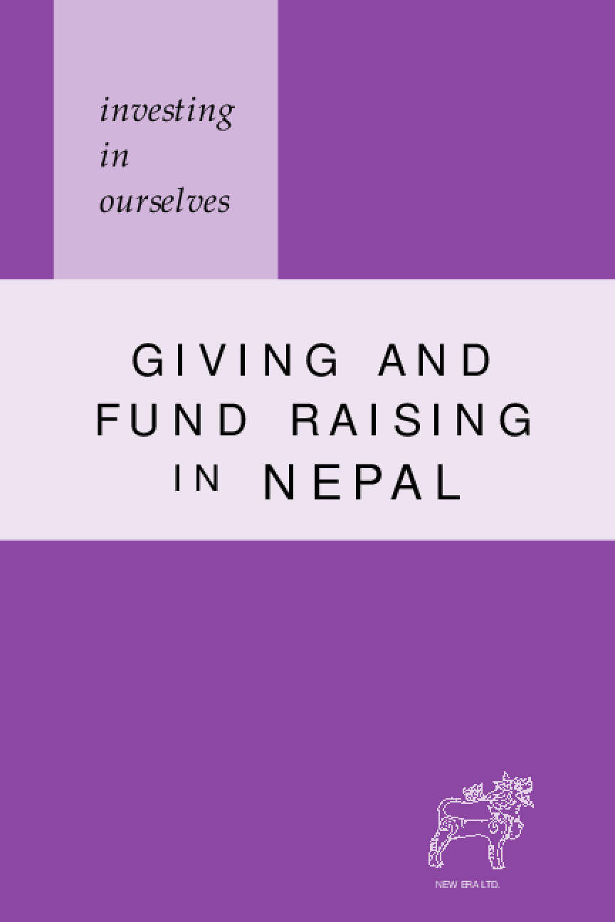 Investing in Ourselves: Giving and Fund Raising in Nepal