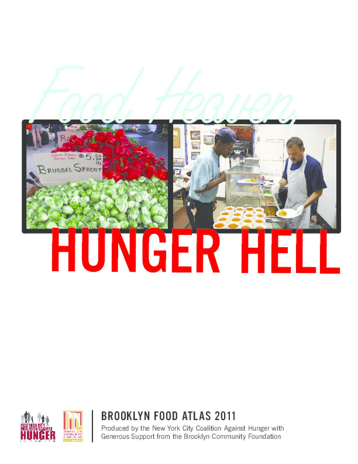 Food Heaven, Hunger Hell: Brooklyn Food Atlas 2011