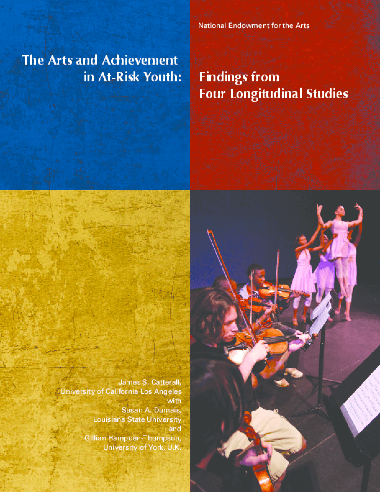 The Arts and Achievement in At-Risk Youth: Findings from Four Longitudinal Studies
