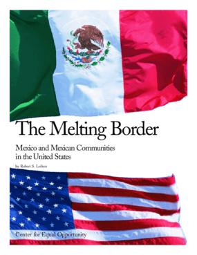 The Melting Border