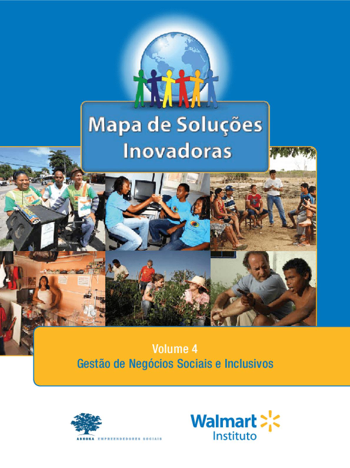 Mapa de soluções inovadoras: gestão de negócios sociais e inclusivos