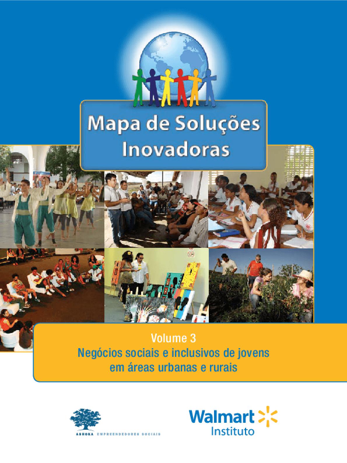 Mapa de soluções inovadoras: negócios sociais e inclusivos de jovens em áreas urbanas e rurais