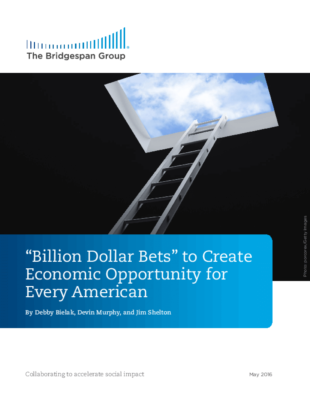 """""""Billion Dollar Bets"""" to Create Economic Opportunity for Every American"""