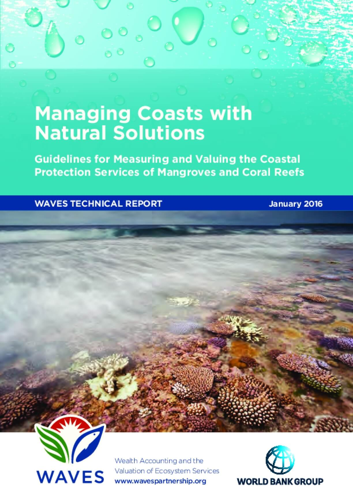 Measuring and Valuing the Services of Mangroves and Coral Reefs