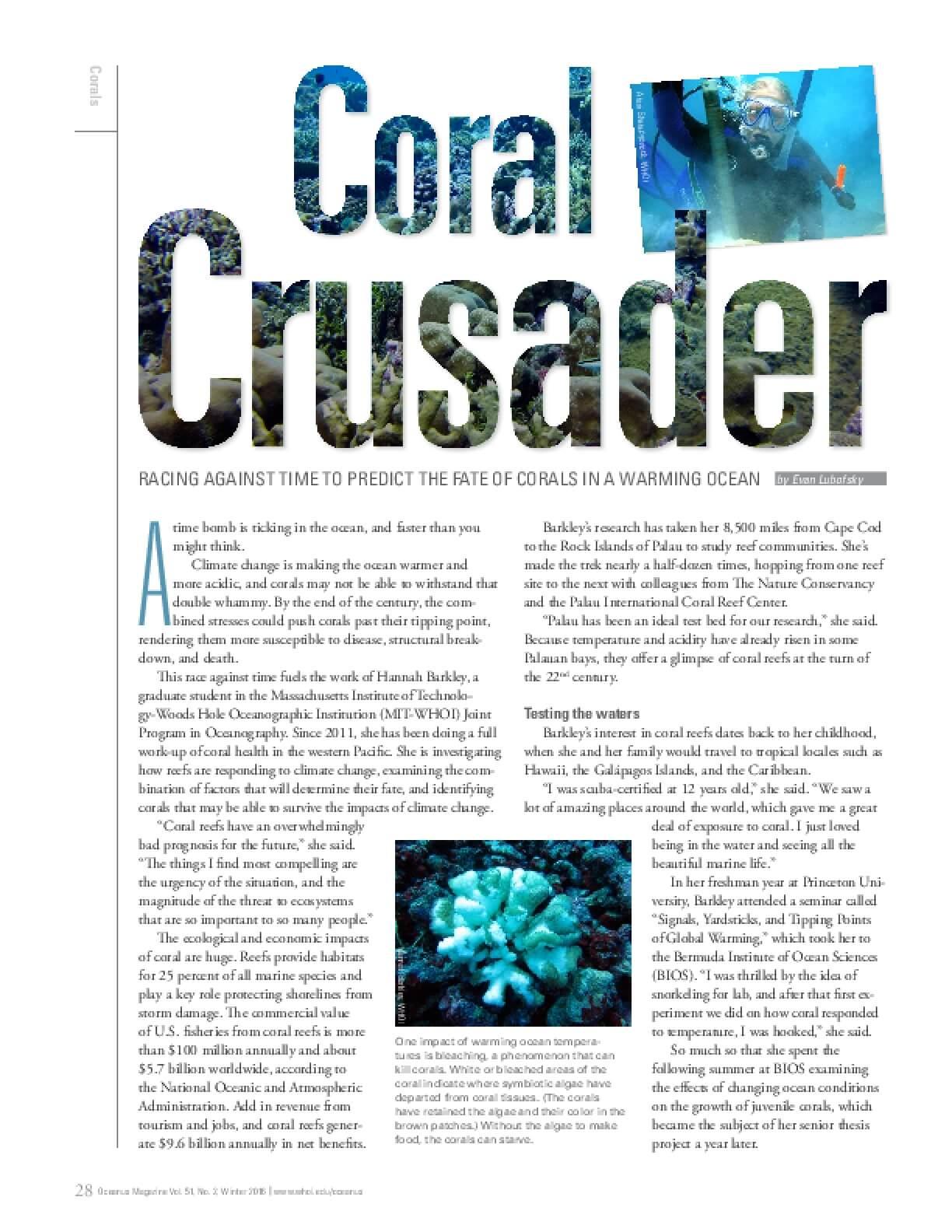 Coral Crusader