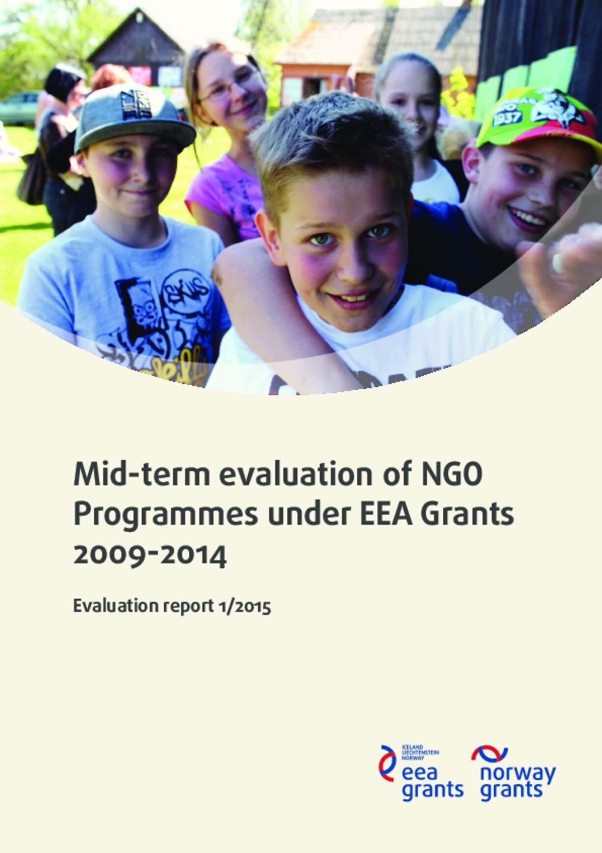 Mid-term Evaluation of NGO Programmes Under EEA Grants 2009-2014