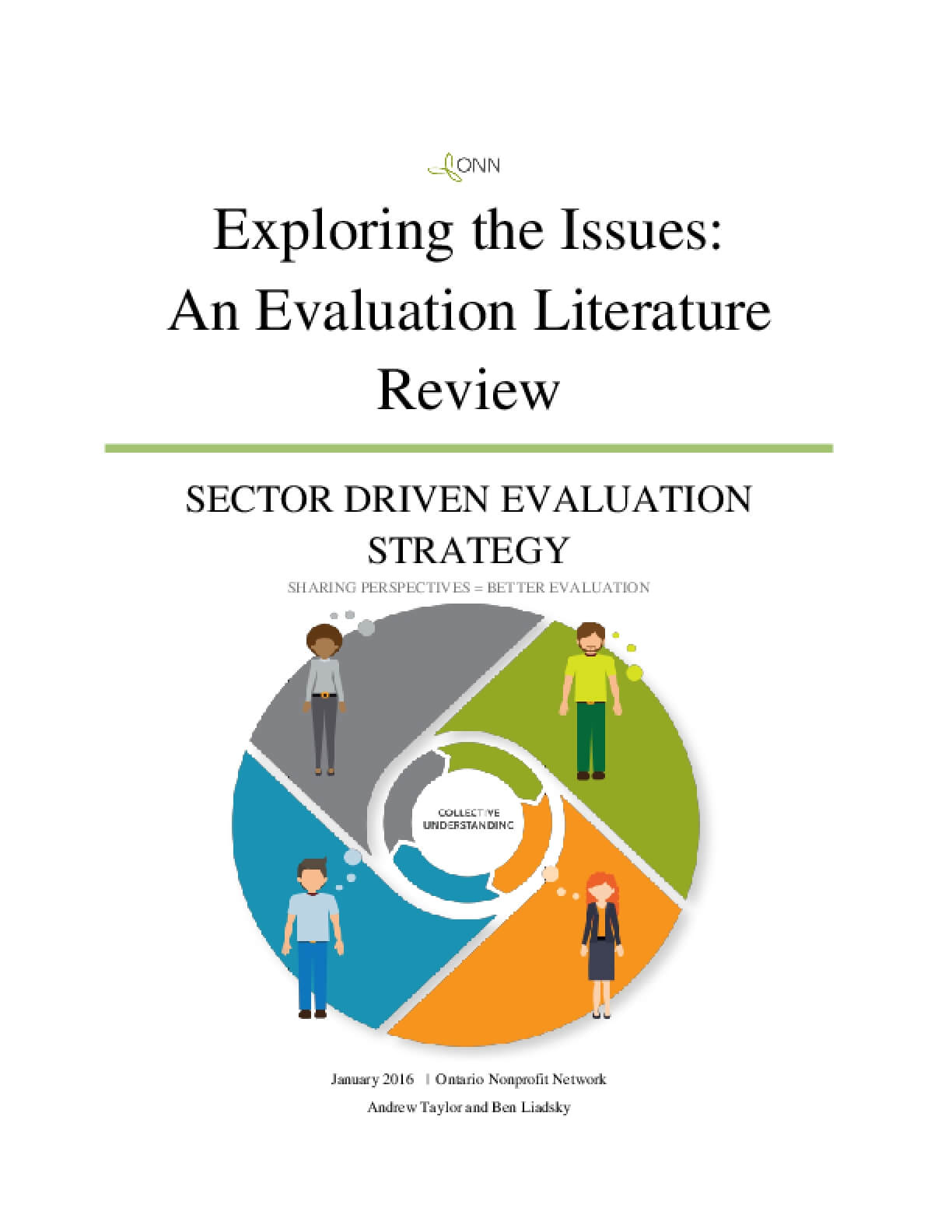 Exploring the Issues: An Evaluation Literature Review