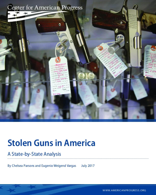 Stolen Guns in America