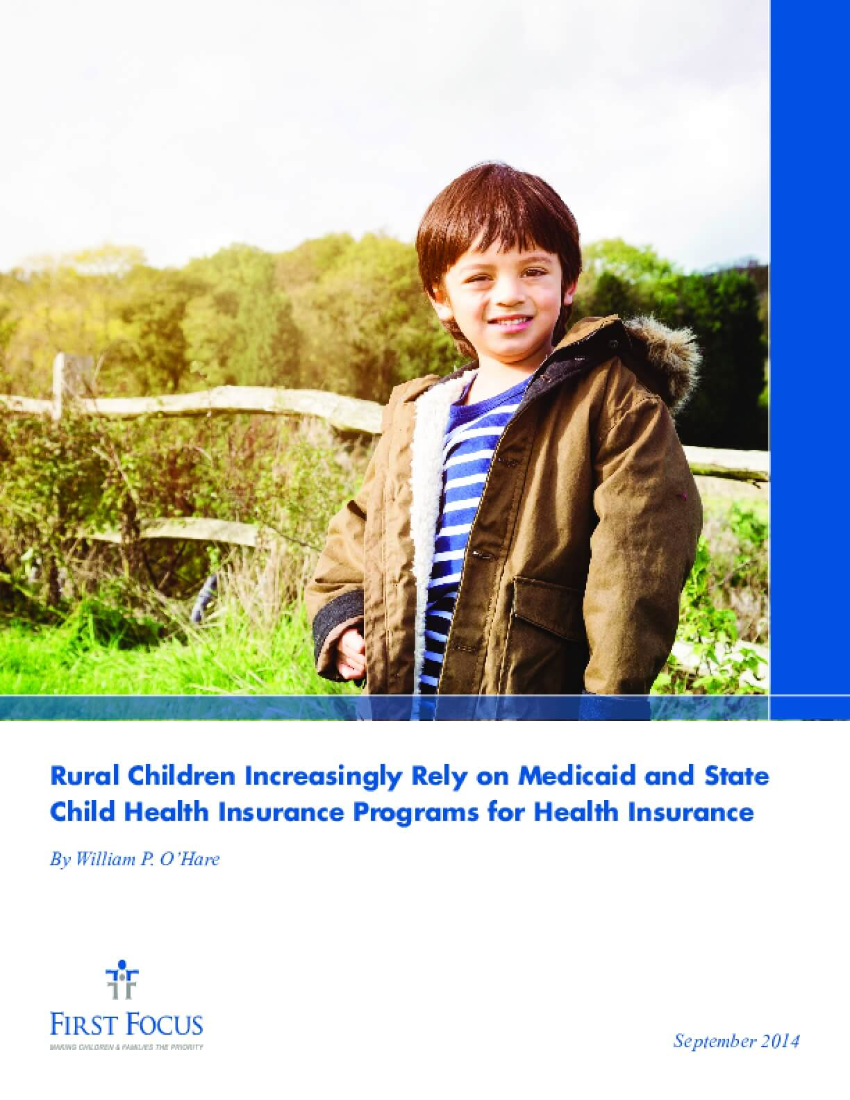 Rural Children Increasingly Rely on Medicaid and State  Child Health Insurance Programs for Health Insurance