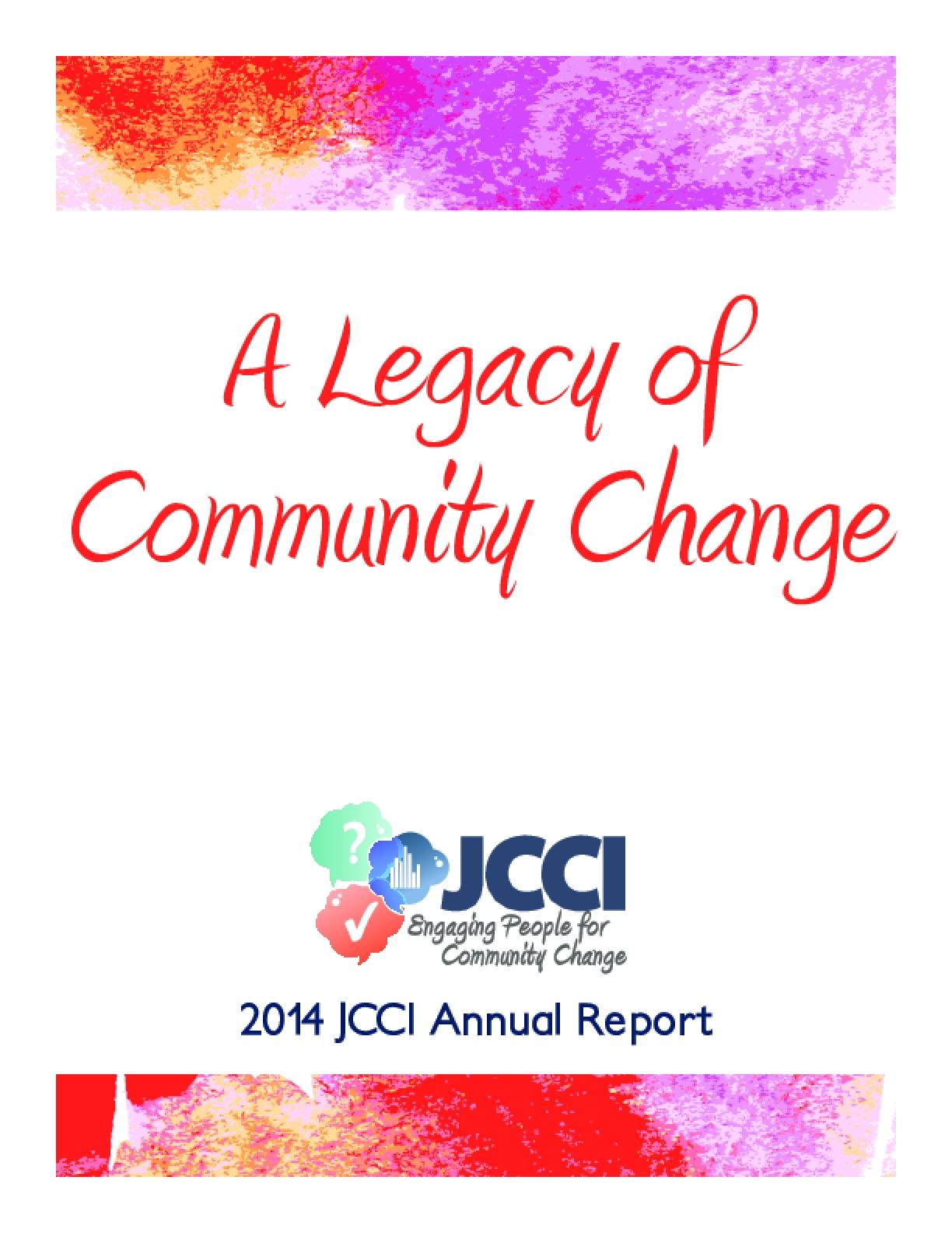 A Legacy of Community Change