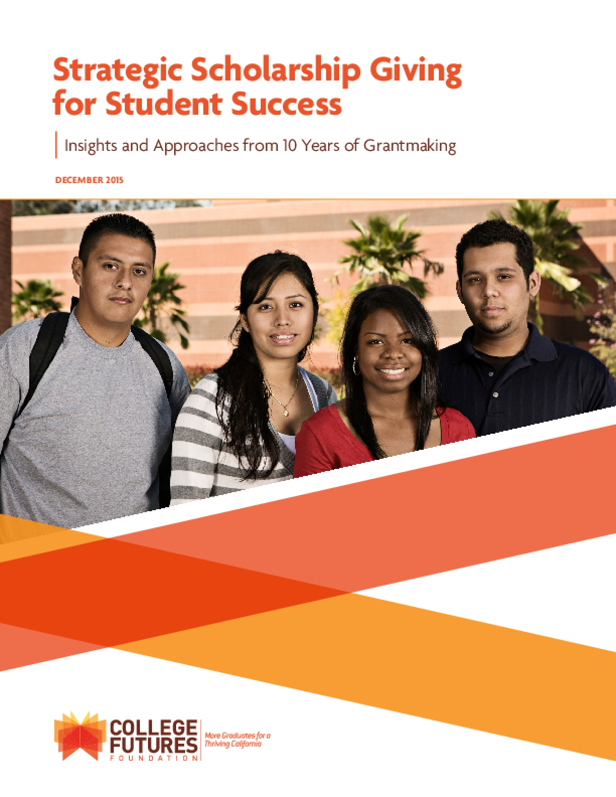 Strategic Scholarship Giving for Student Success