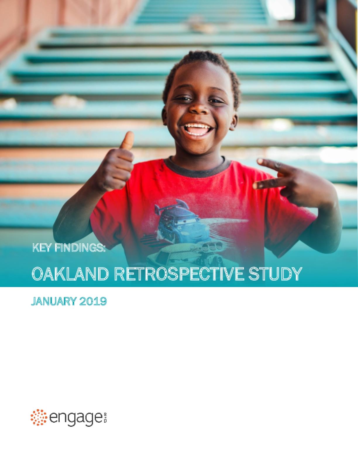 Key Findings: Oakland Retrospective Study
