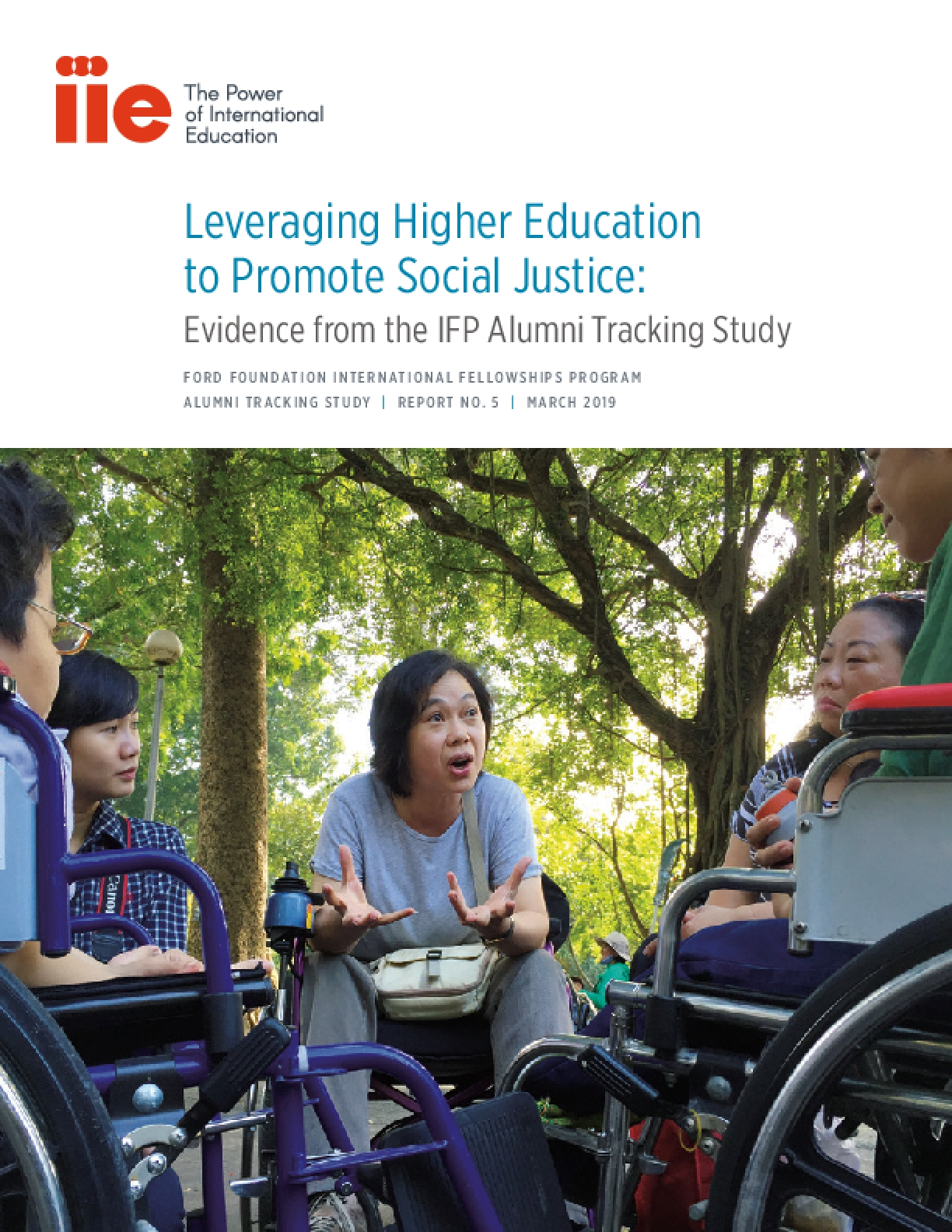 Leveraging Higher Education to Promote Social Justice: Evidence from the IFP Alumni Tracking Study