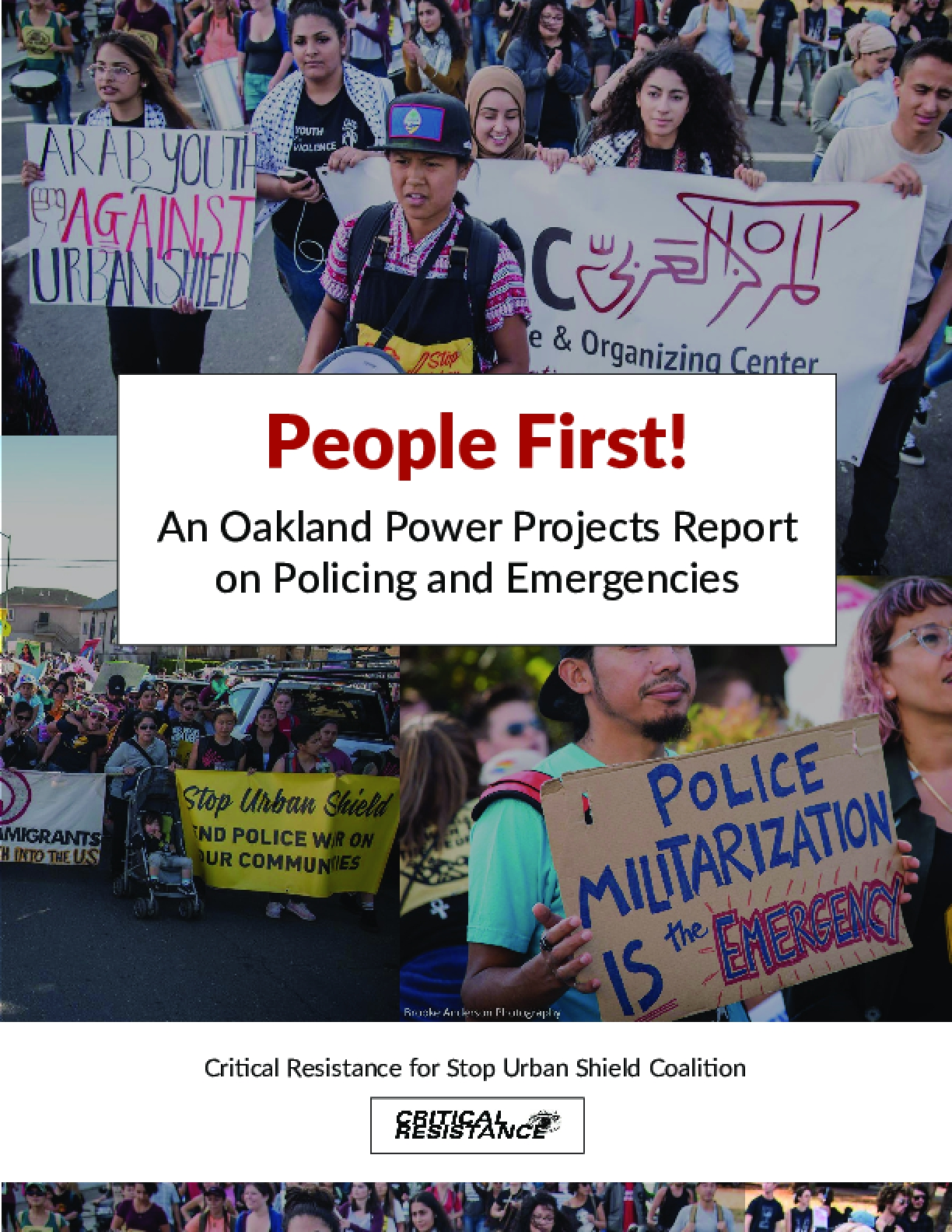 People First! An Oakland Power Projects Report on Policing and Emergencies