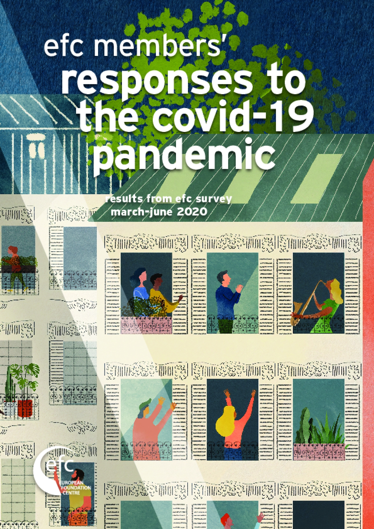 EFC Members' Responses to the Covid-19 Pandemic : Results from EFC Survey March-June 2020