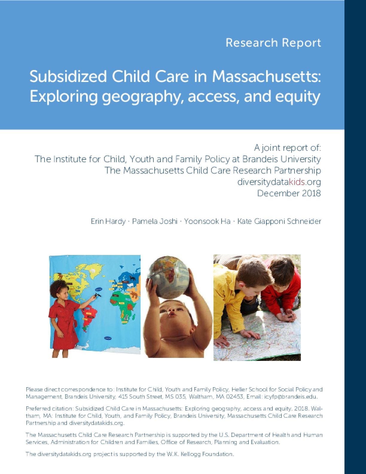 Subsidized Child Care in Massachusetts: Exploring Geography, Access, and Equity
