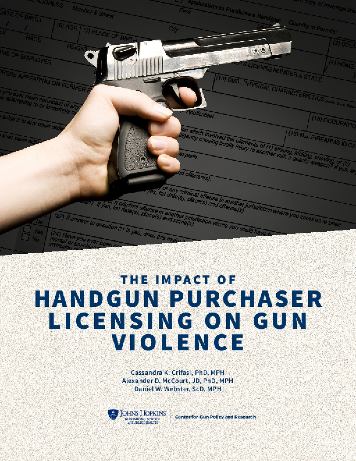 The Impact of Handgun Purchaser Licensing Laws on Gun Violence