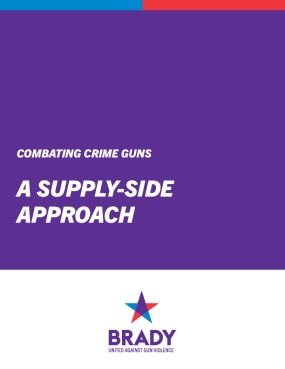 Combating Crime Guns: A Supply-Side Approach