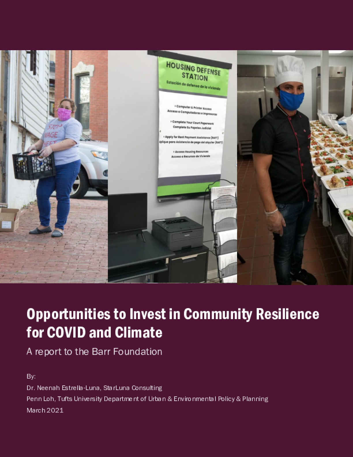 Opportunities to Invest in Community Resilience for COVID and Climate