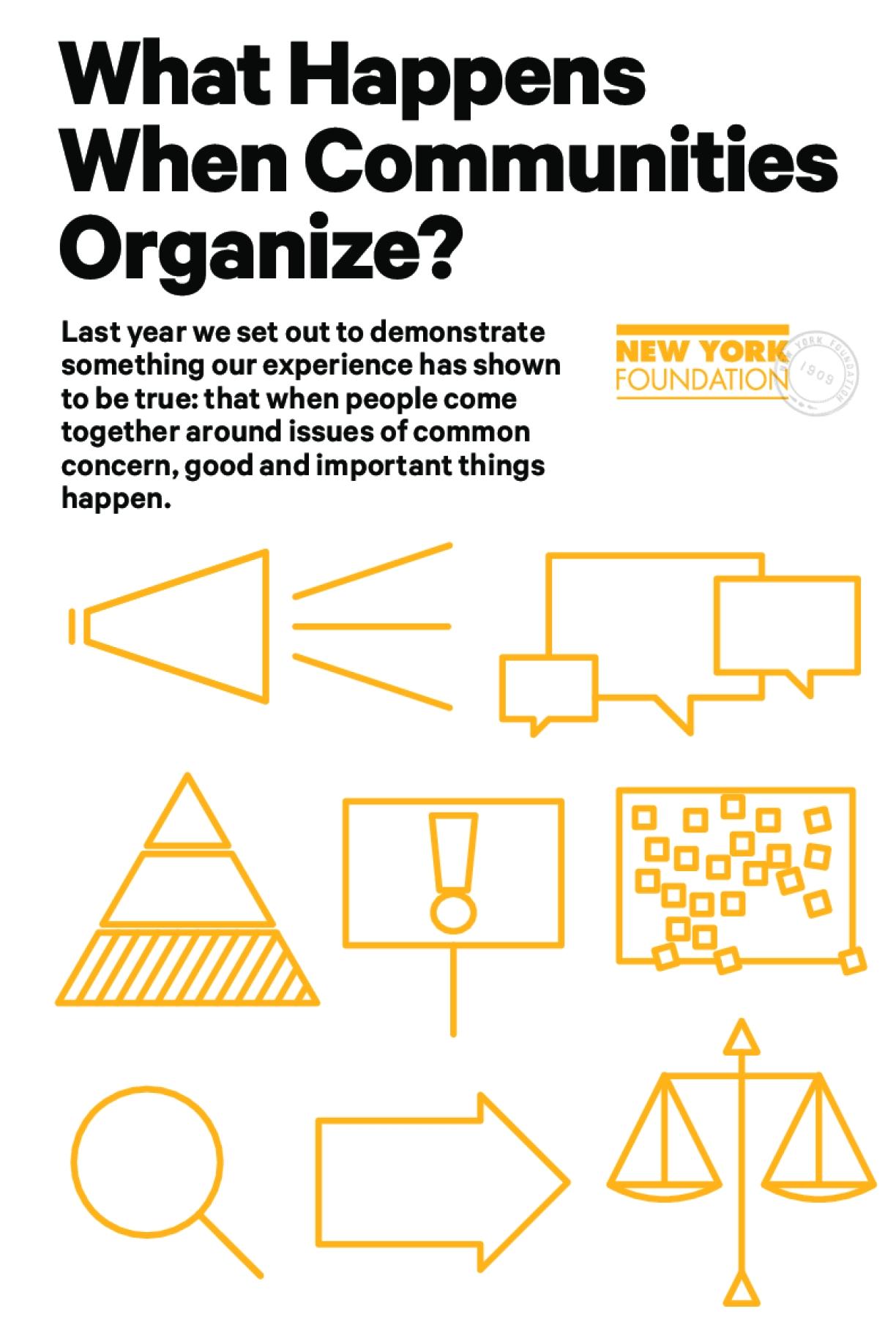 What Happens When Communities Organize? Short Version