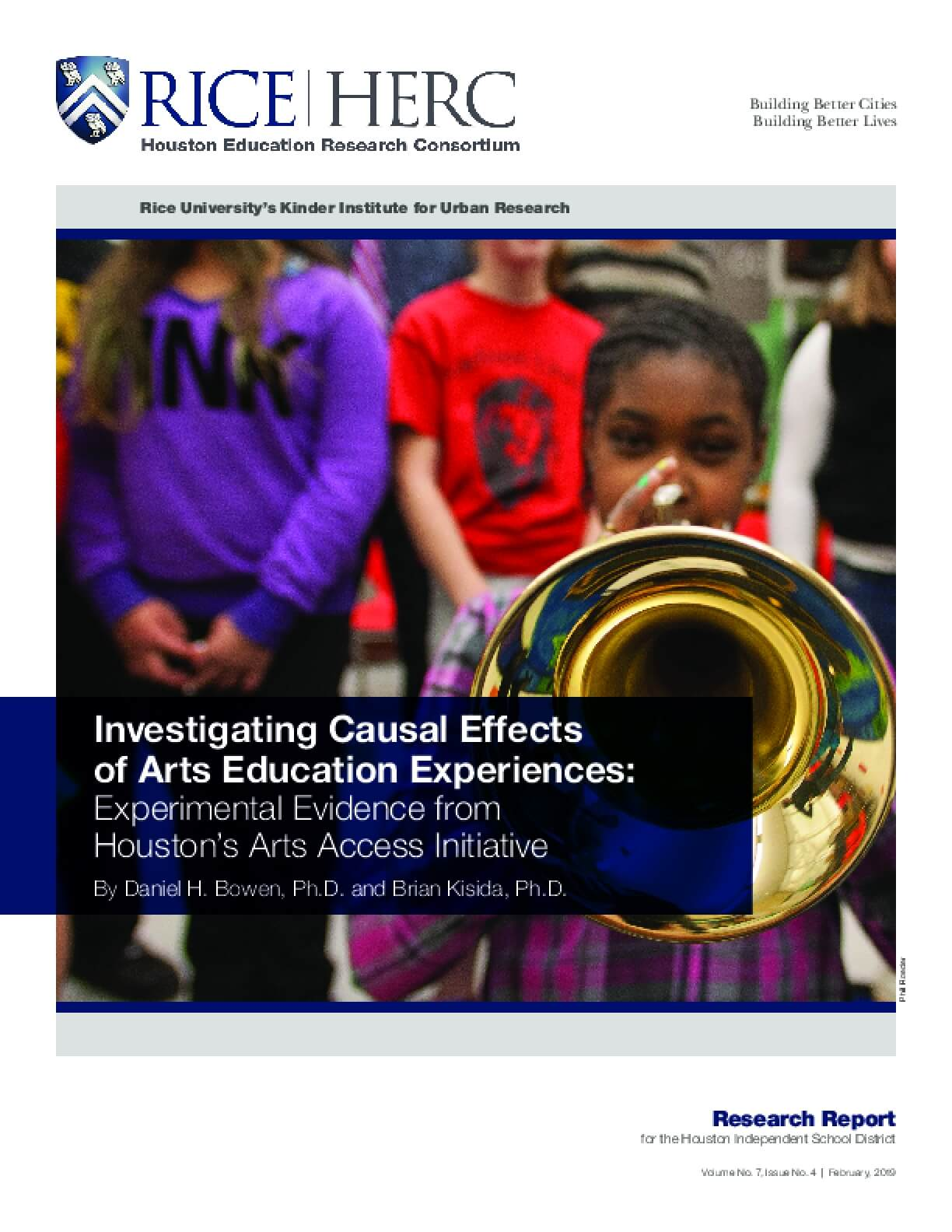 Investigating Causal Effects of Arts Education Experiences: Experimental Evidence from Houston's Arts Access Initiative