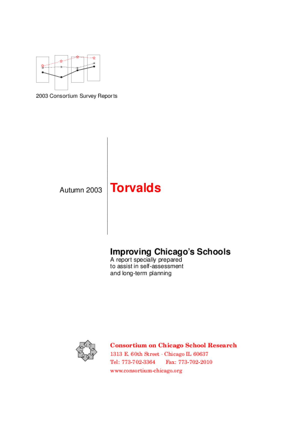 Improving Chicago's Schools: Torvalds