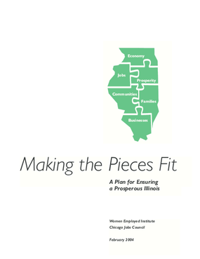 Making the Pieces Fit: A Plan for Ensuring a Prosperous Illinois