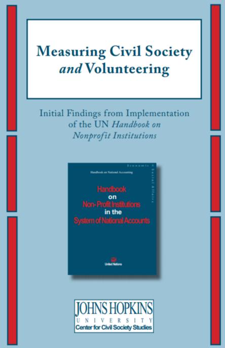 Measuring Civil Society and Volunteering